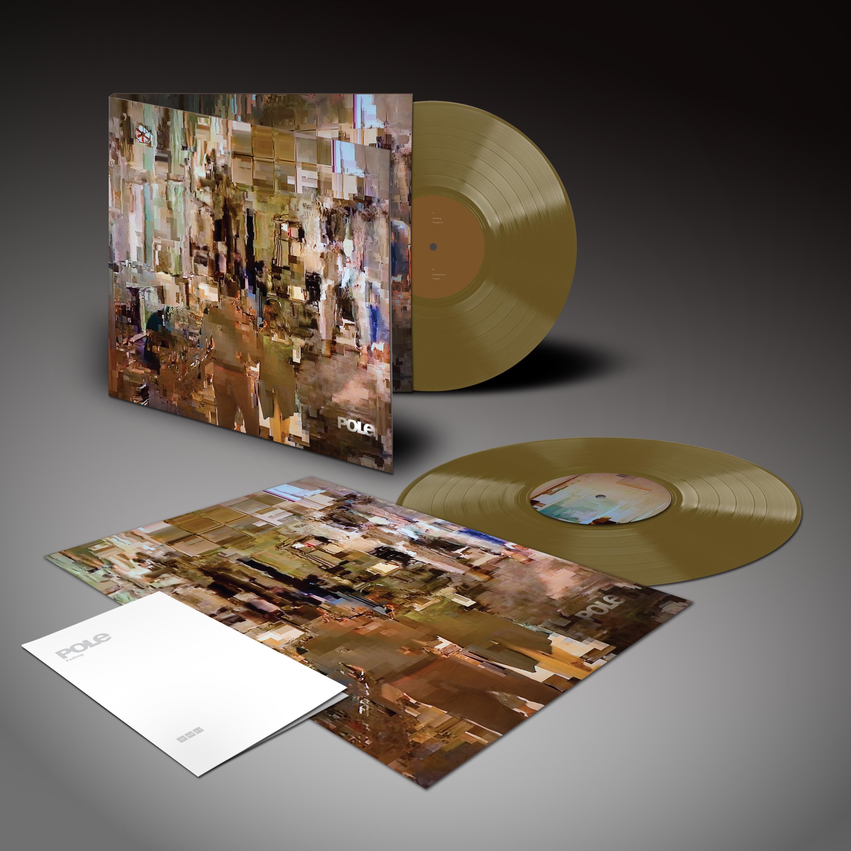 "pole ""fading"" - ltd edition - aztec gold vinyl + poster - LSTUMM457"